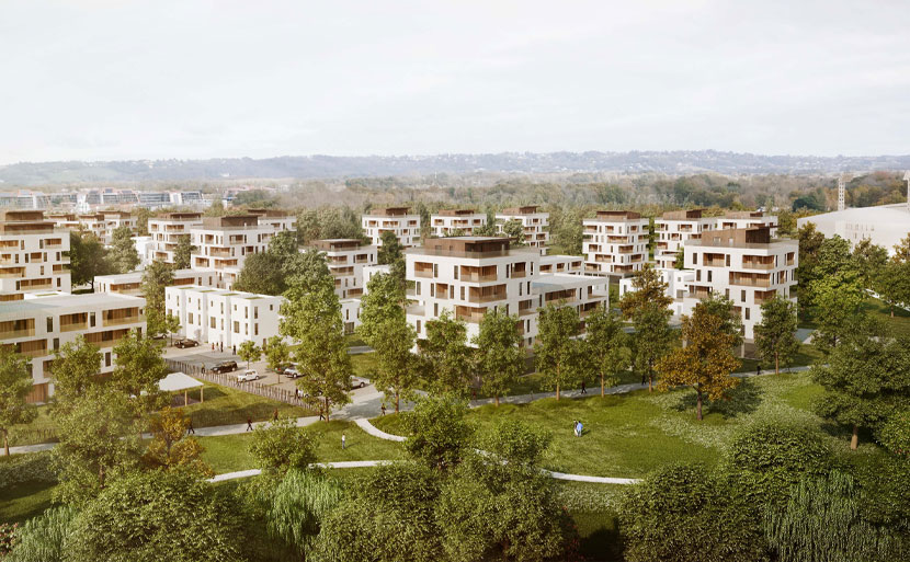 The eco district of the Hameau stadium 0 | Invest in Pau